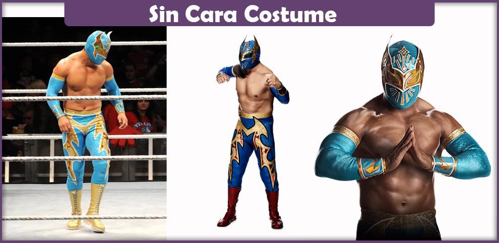 Sin Cara Costume – A DIY Guide