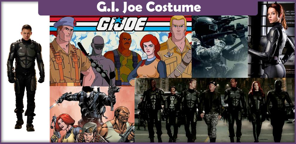 G.I. Joe Costume – A DIY Guide
