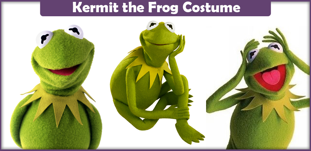 Meme Kermit Frog Costume