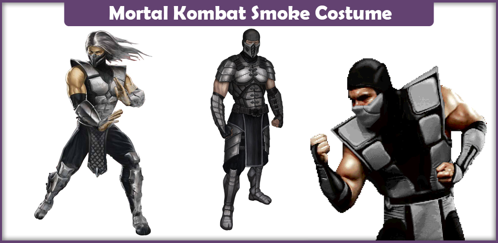 Mortal Kombat Smoke Costume