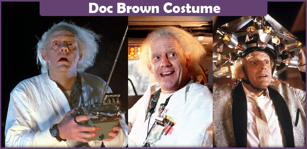 Doc Brown Costume – A DIY Guide