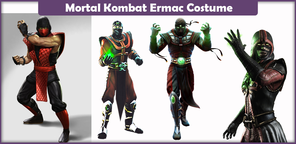 Mortal Kombat Ermac Costume