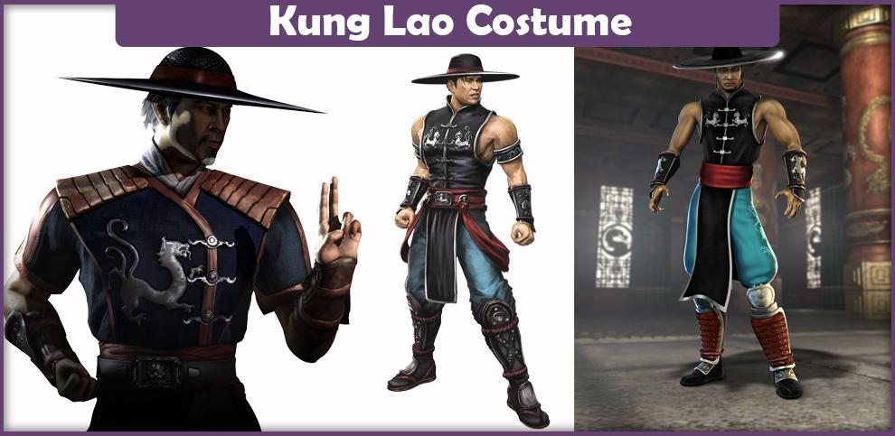 Mortal Kombat Kung Lao Costume