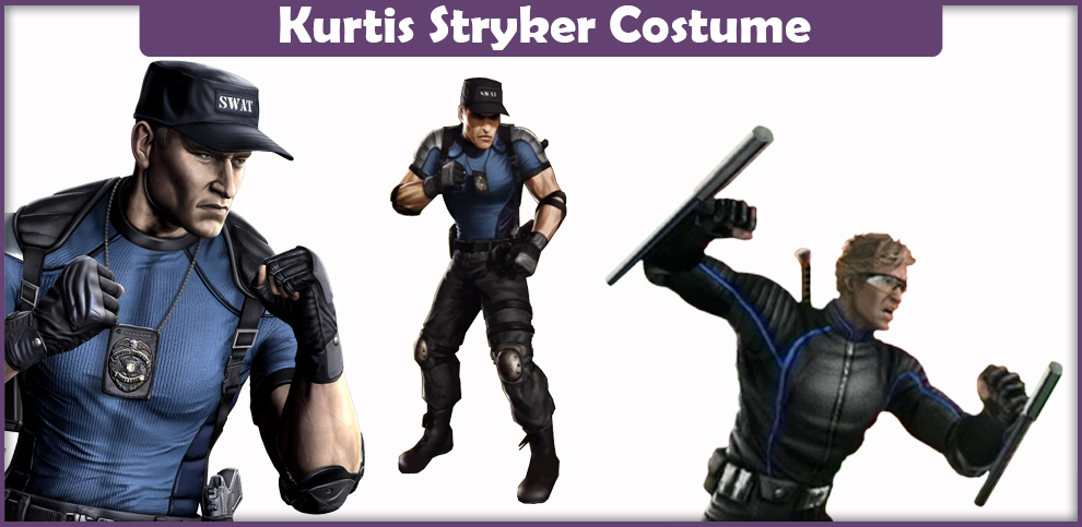 Mortal Kombat Kurtis Stryker Costume