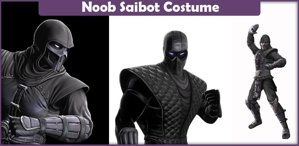 Mortal Kombat Noob Saibot Costume