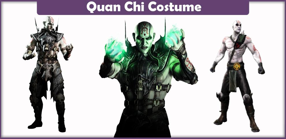 Mortal Kombat Quan Chi Costume