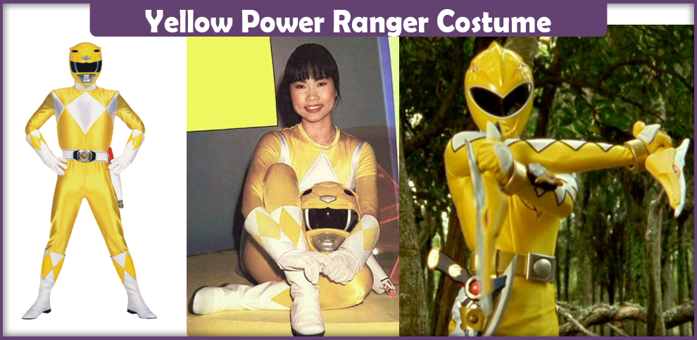 Yellow Power Ranger Costume