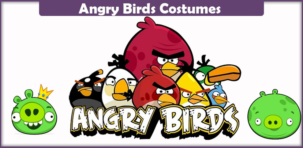Angry Birds Costumes – A DIY Guide