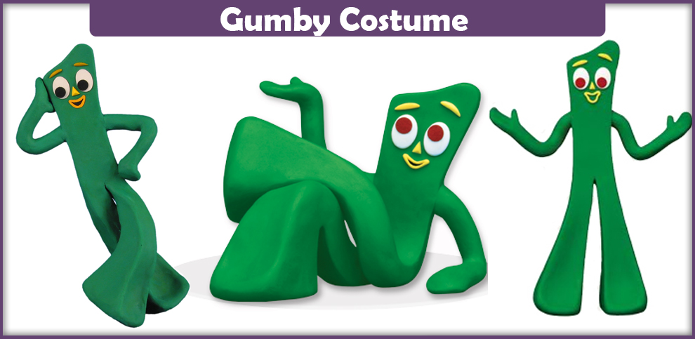 Gumby Costume – A DIY Guide