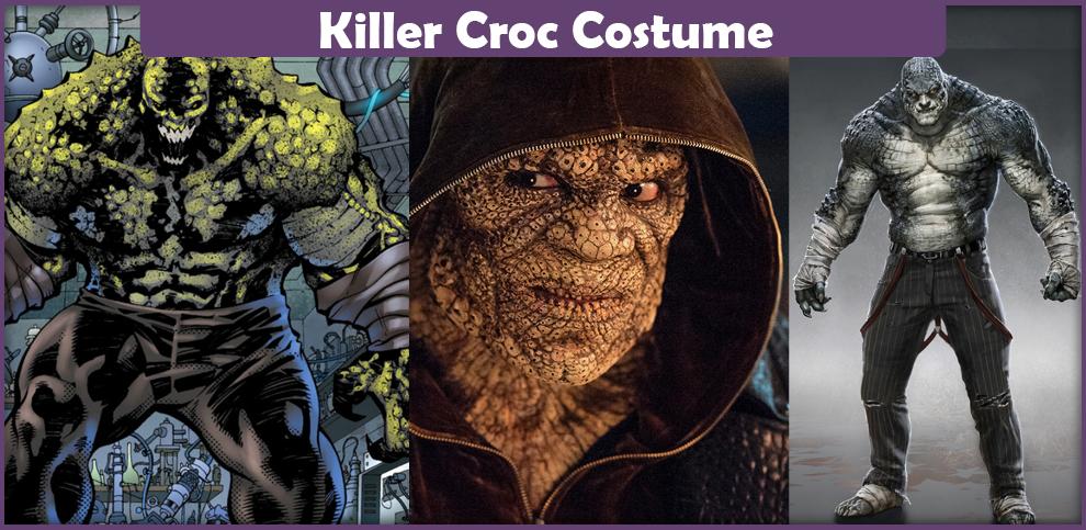 Killer Croc Costume