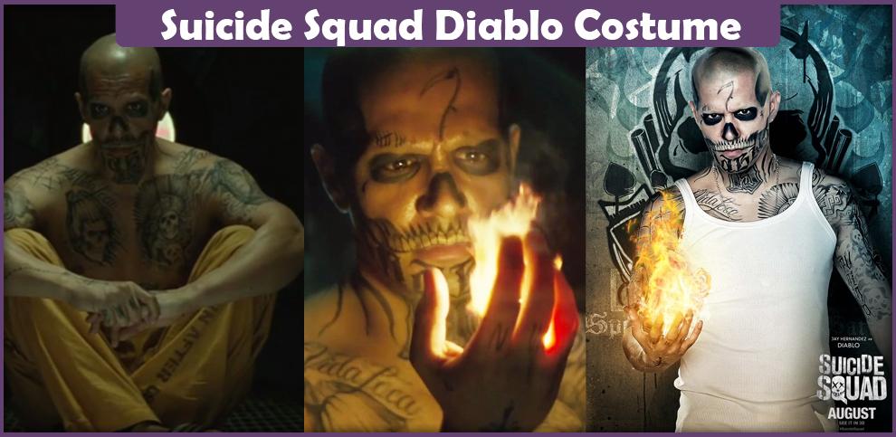 Suicide Squad Diablo Costume