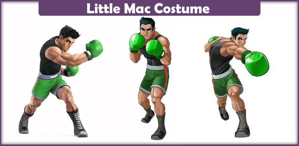 Little Mac Costume – A DIY Guide