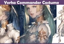 Yorha Commander Costume