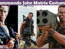 Commando John Matrix Costume