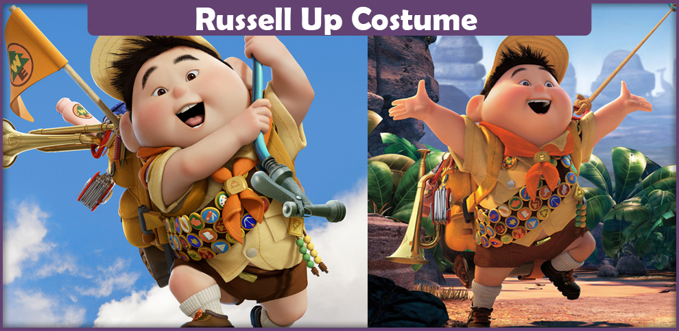 Russell Up Costume.
