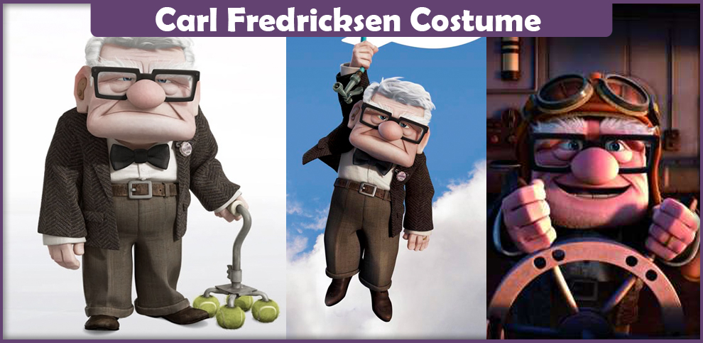Carl Fredricksen Costume – A DIY Guide