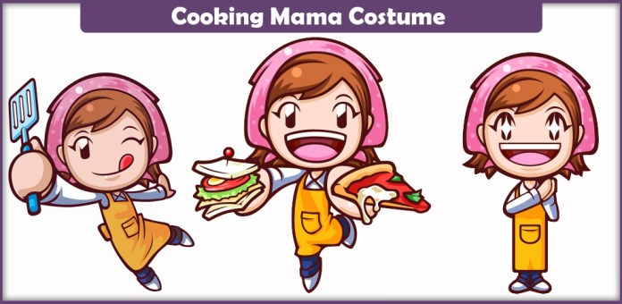 Cooking Mama Costume.