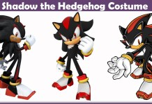 Shadow the Hedgehog Costume