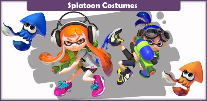 Splatoon Costumes.