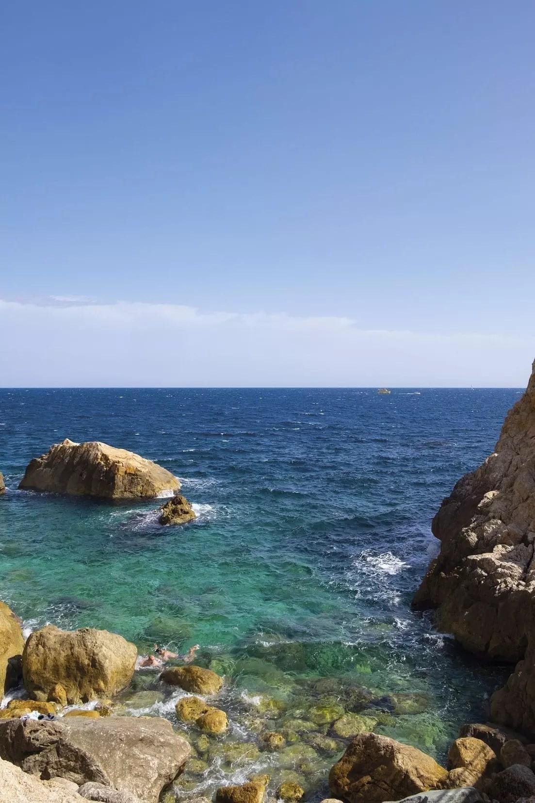 Das Meer vor l'Estartit