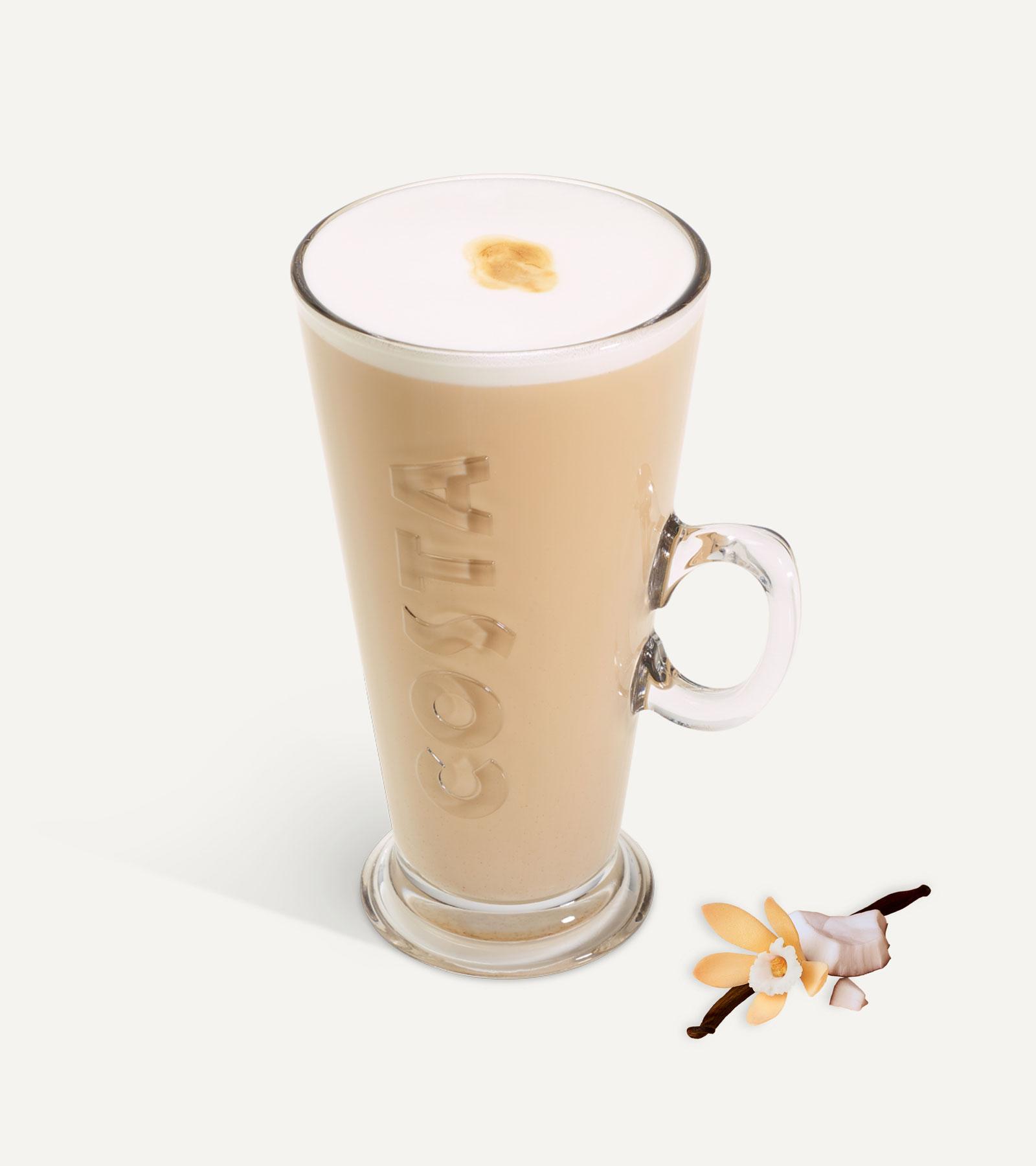 Vanilla Coconut Latte+ Vitamin B12 & Zinc*±
