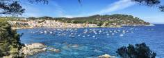 Blick zurück auf Calella de Palafrugell