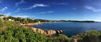 Zwischen S'Agaro und Sant Feliu de Guíxols: Betörend schöne Küstenlandschaft!