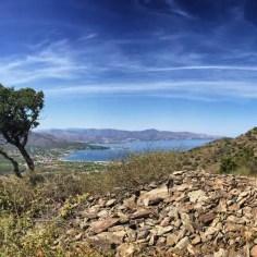 Der Anstieg hinter El Port de la Selva ist anstrengend, dafür wird man mit einem tollen Ausblick belohnt