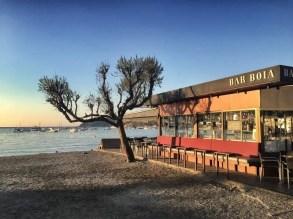 Gehobene Strandgastronomie in Cadaqués