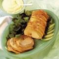 Cotlet de porc cu sos de mere si hrean