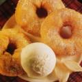Rondele de mere in aluat cu ghimbir