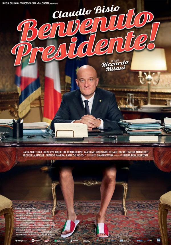 "Il film ""benvenuto presidente"" con Claudio Bisio dal 5 aprile al cinema Oscar Niemeyer."