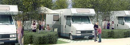 Camper Oasi, area attrezzata sosta camper presso Parco della Sterpaia