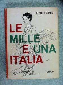 copertina libro prima edizione LE MILLE E UNA ITALIA di Giovanni Arpino - Einaudi 1960