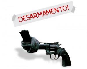 desarmamento - pistola intrecciata