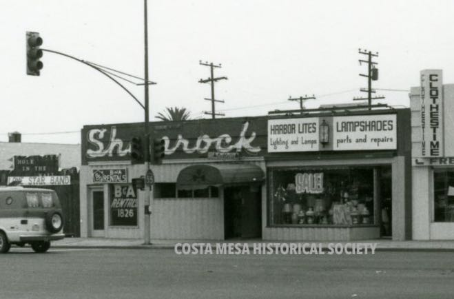 The Shamrock: Costa Mesa's First Cocktail Bar