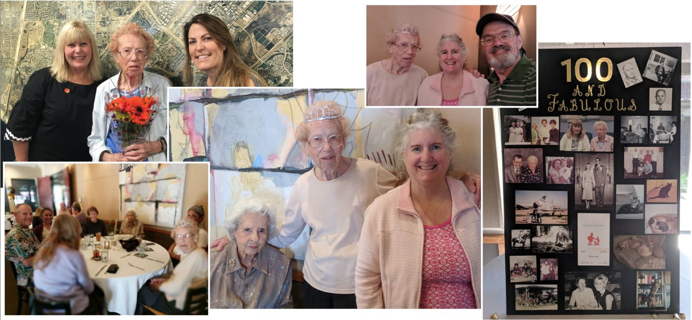 Happy Birthday, Gladys! Longtime Society Volunteer Turns 100