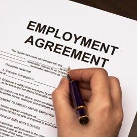 Executive Employment Lawyer employment agreement