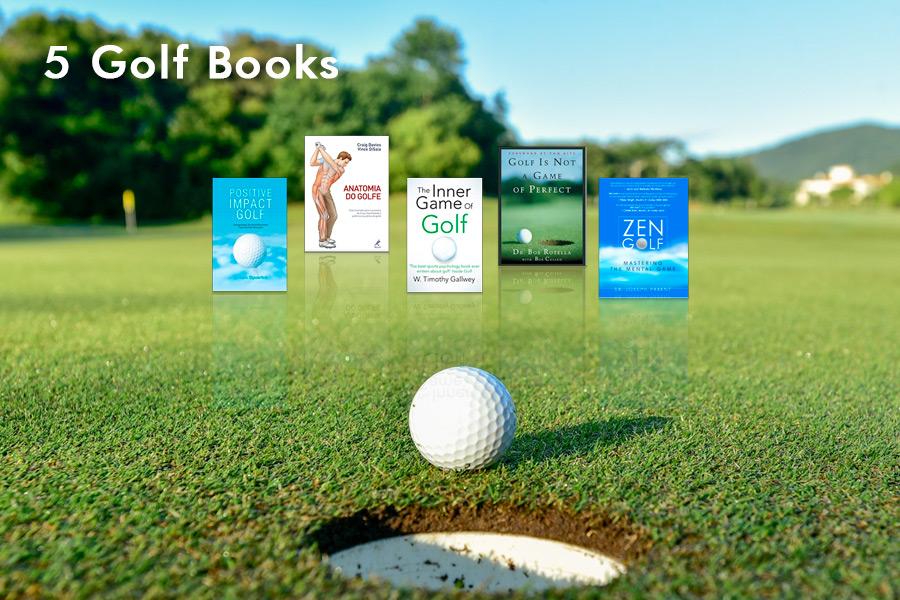 5 livros sobre Golfe