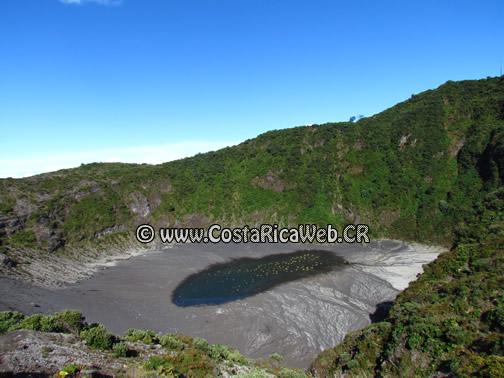Irazú Volcano National Park Diego de la Haya lagoon in Cartago, Costa Rica