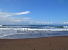 Playa Jacó en Garabito, Puntarenas, Costa Rica