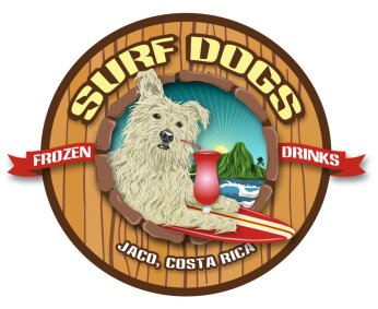 Surf Dogs Bar and Restaurant in Jaco, Costa Rica