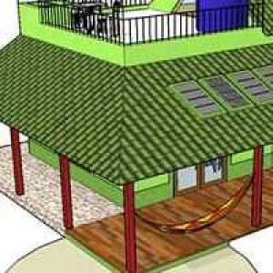 Extended Shaded Roof