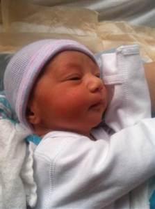 Shirley Bonanni baby sled 1