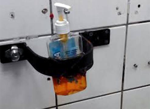 costa rica soap dispenser