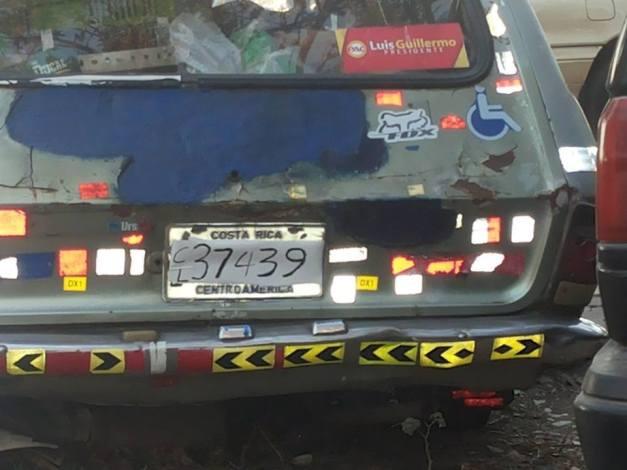 New License Plates in Costa Rica