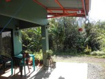 nice little proch and sitting area of 1 BR and lot for sale in san ramon costa rica