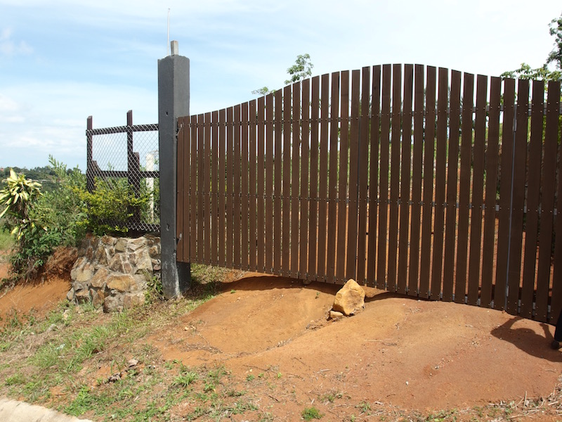 Nice Wooden Gated entry