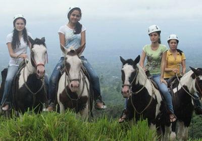 horseback riding in jaco