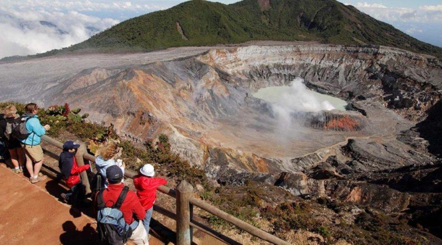 Poas Volcano + La Paz Waterfalls + Coffee Plantation